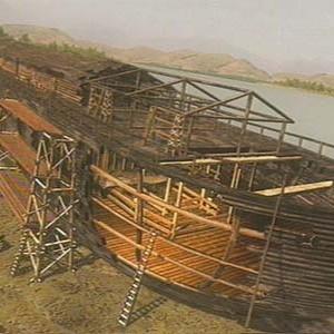 igreja cristã maranata - a arca de CVé está sendo construída
